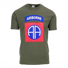 Army Shirt 82ND Airborne Big logo