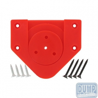 Rotate Fixing Bracket Red